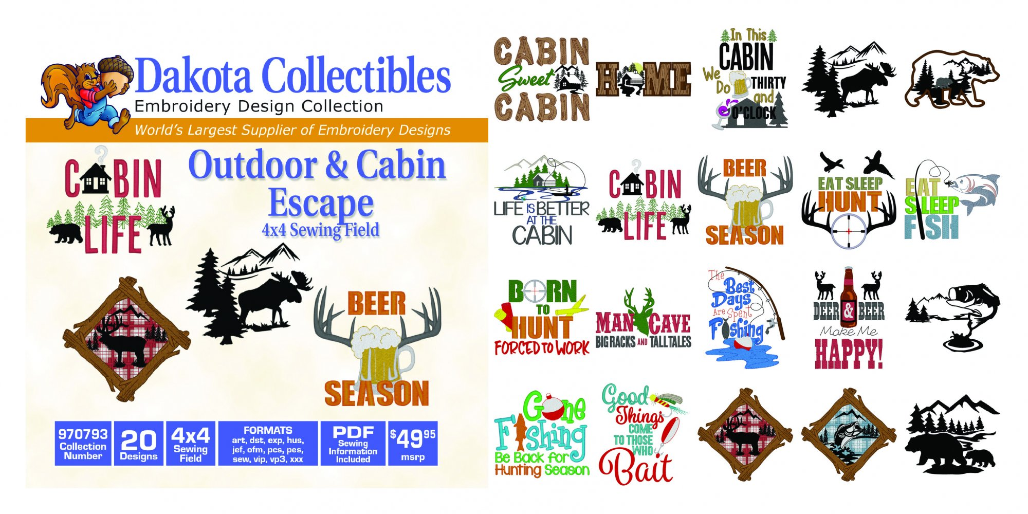 970793 Outdoor & Cabin Decor
