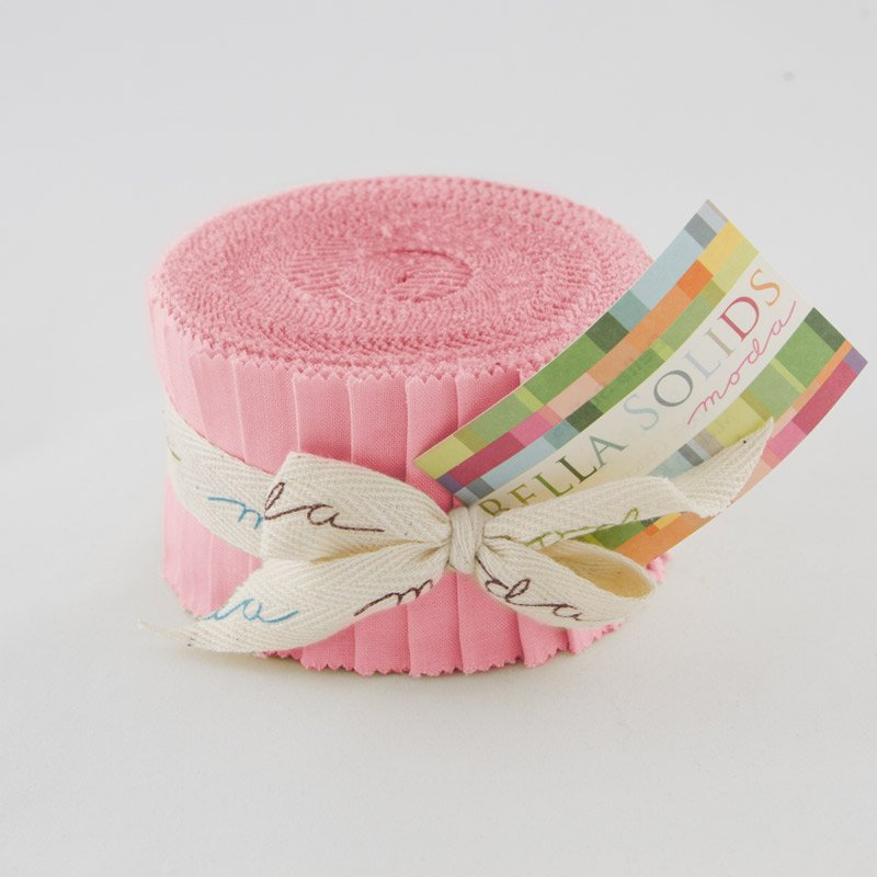 Strips - Bella Solids Jelly Roll