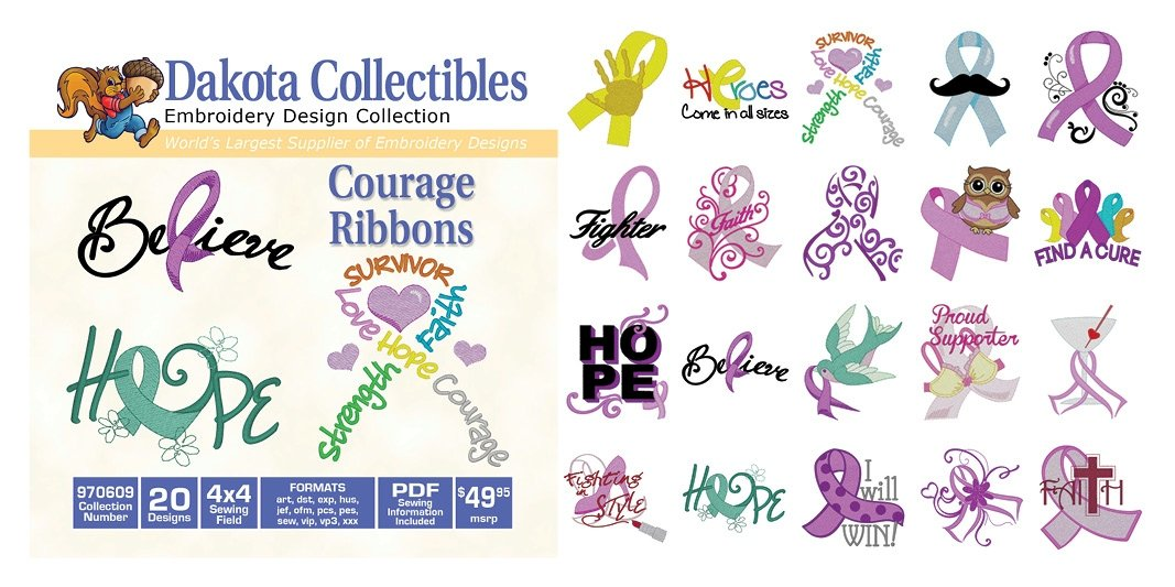 Courage Ribbons 970609