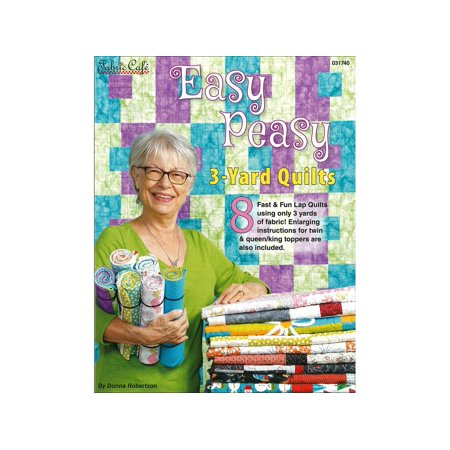 Easy Peasy 3-Yard Quilts - Pattern Book
