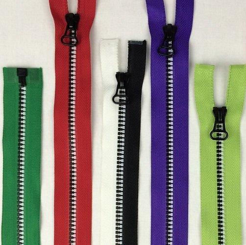 Black & White Coil Zipper