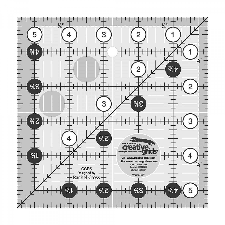 Square Quilt Ruler