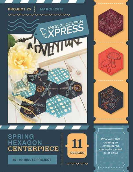 AG Express: Spring Hexagon Centerpiece
