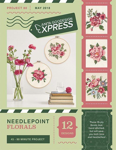 AG Express: Needlepoint Florals