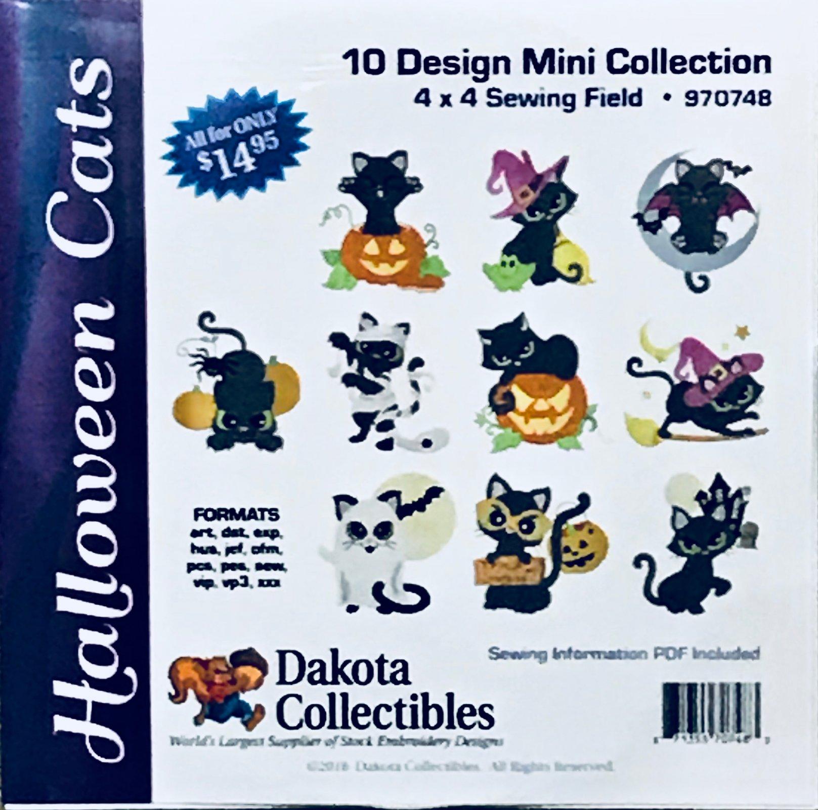 Halloween Kitty Cats Mini Collection