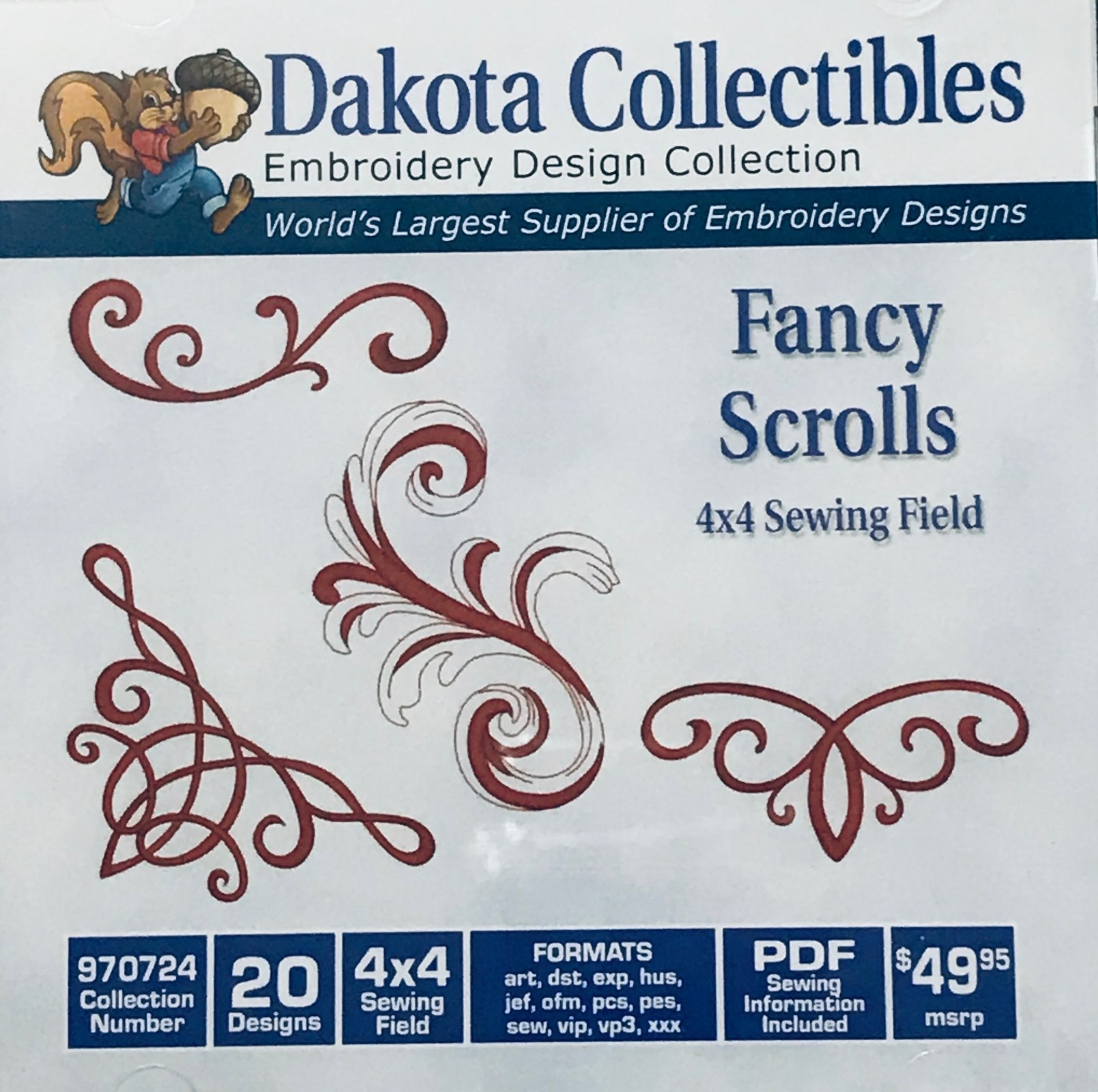Fancy Scrolls 970724