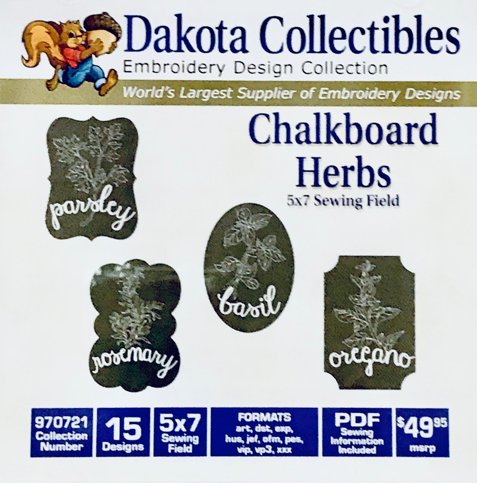 Chalkboard Herbs 970721