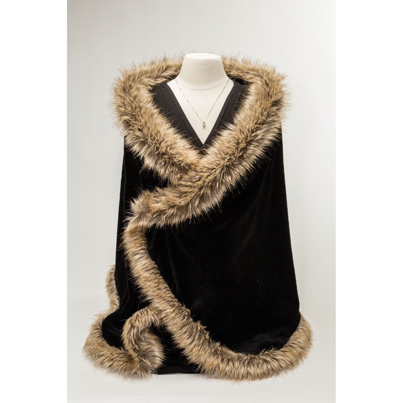 Luxury Fur Wrap