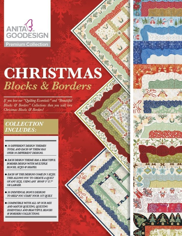AG Christmas Blocks and Borders