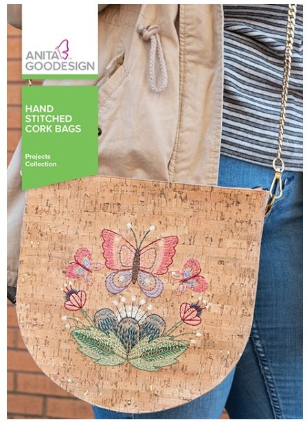 Hand Stitched Cork Bag
