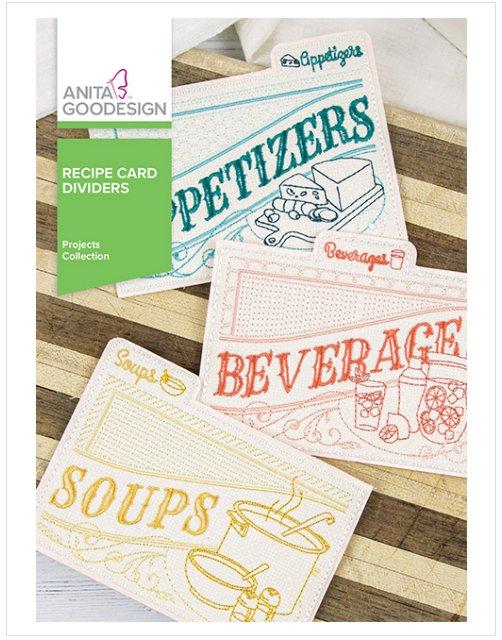 Recipe Card Dividers PROJ165