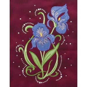 Embroidery and Crystal Combo Pack
