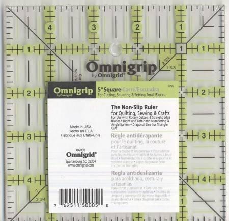 Square Omnigrip Ruler 5