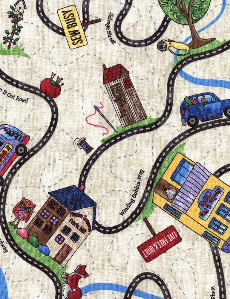 RxR Fabric Roads