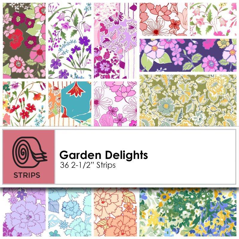 Garden Delights 2.5 in strips