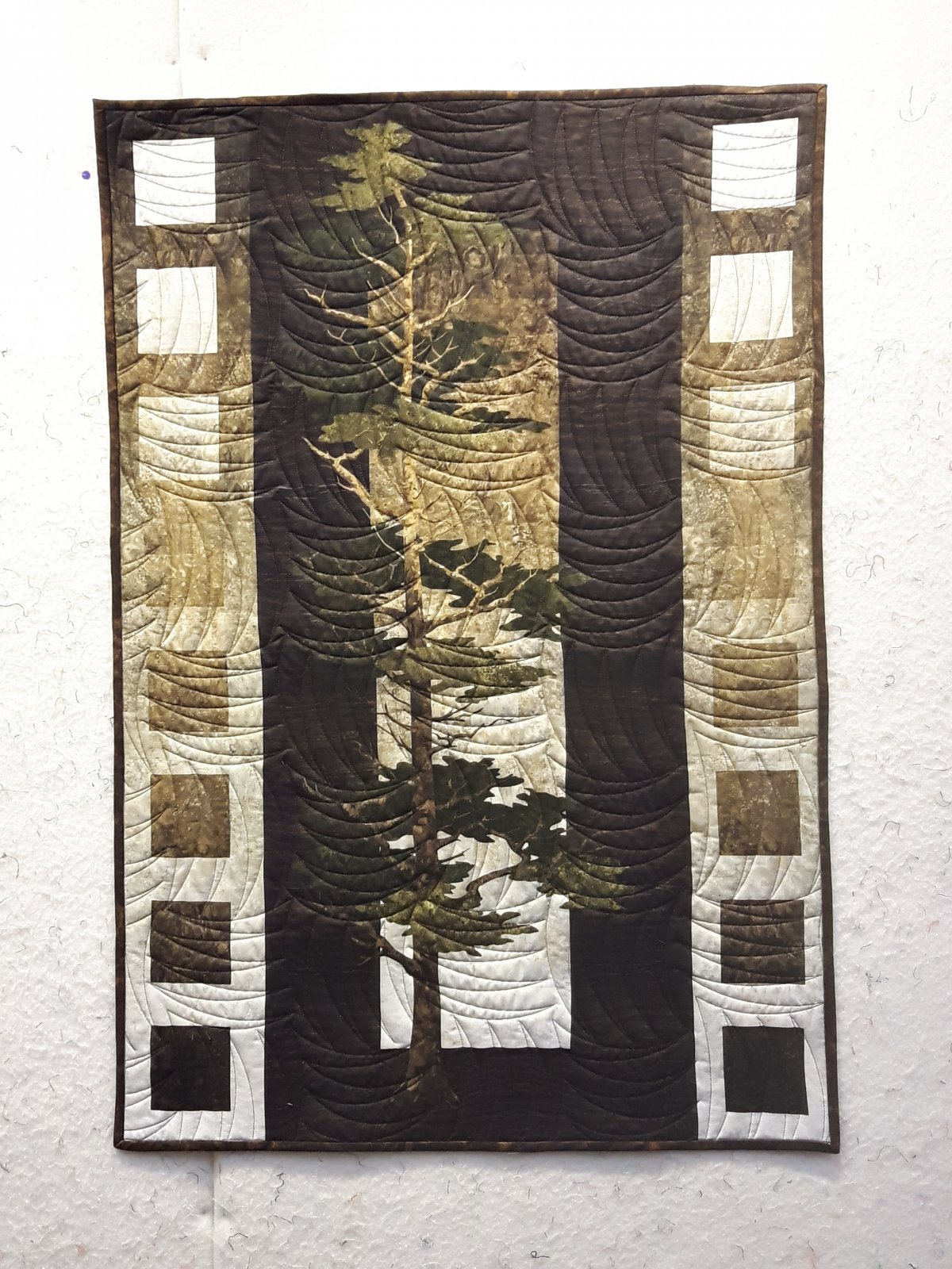 Mighty Pines Wall Hanging 29 x 42