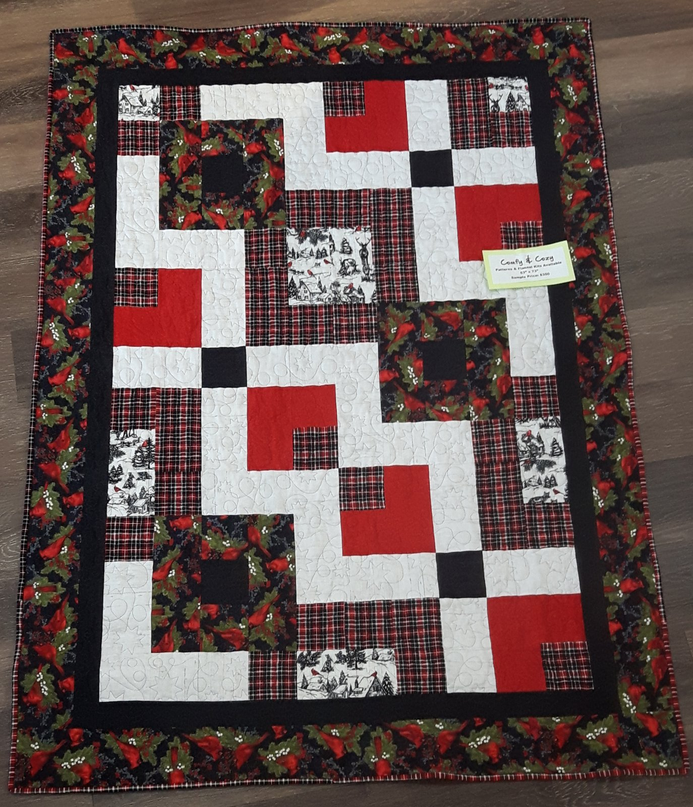Comfy & Cozy Finished Quilt