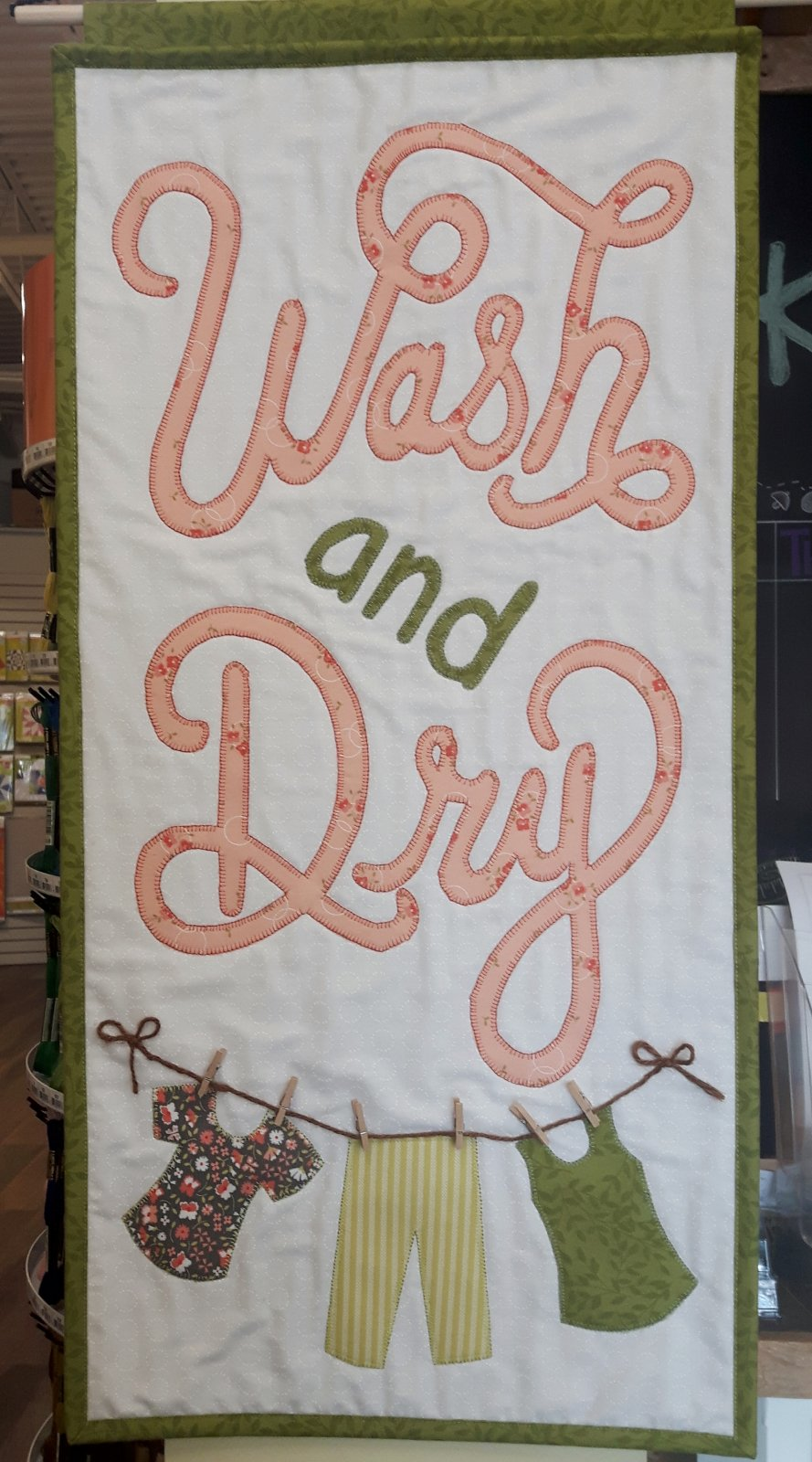 K - Wash and Dry
