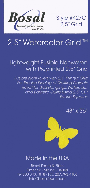 Pre-printed 2.5 Grid - 36x48