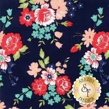 Smitten Bouquet Navy 55171-15