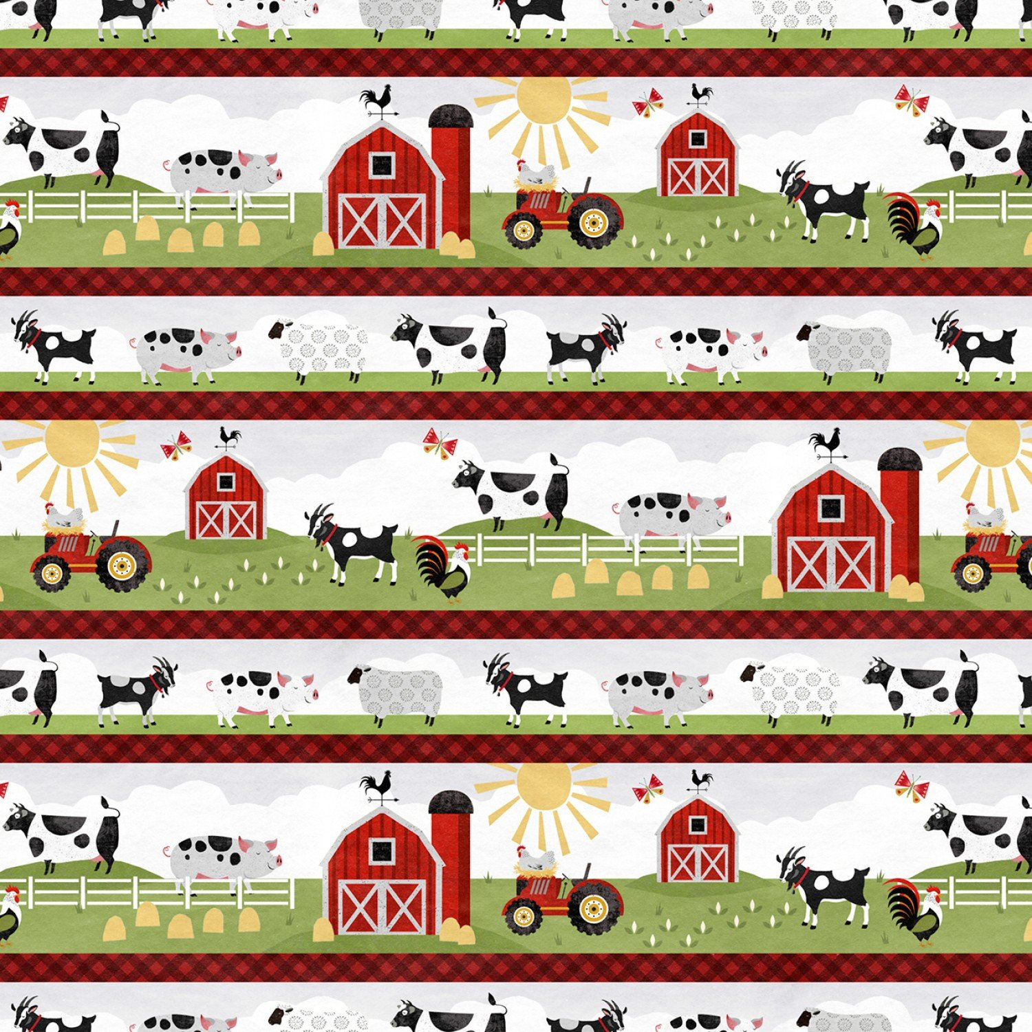Country Life Border Stripe