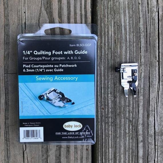 1/4 inch Quilting Foot with Guide
