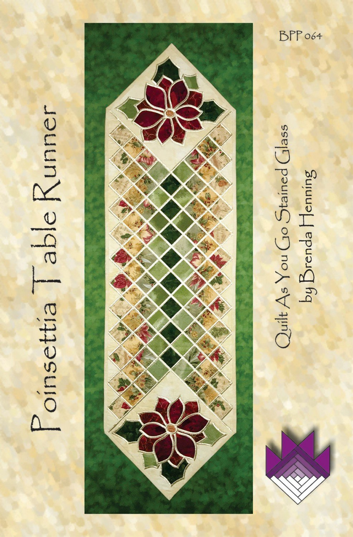 Poinsettia Table Runner
