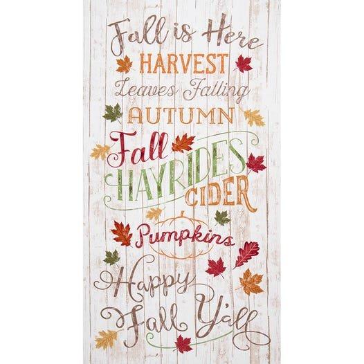 Happy Fall Y'All Panel