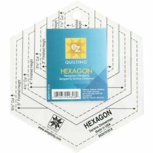 Hexagon Ruler 1 - 6