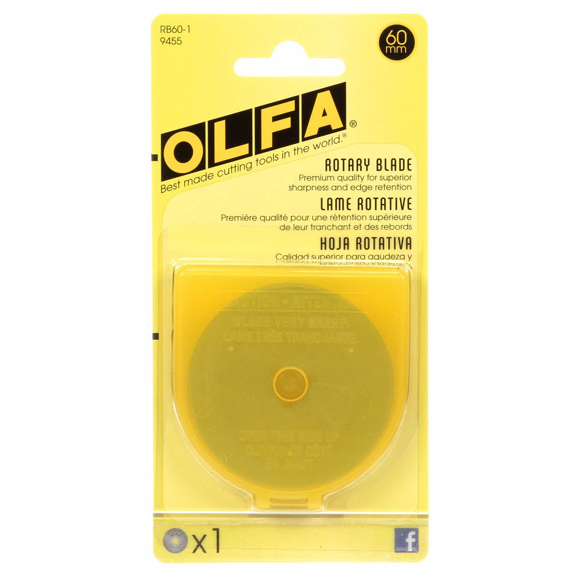 BLADE REFILL 60mm 1CT