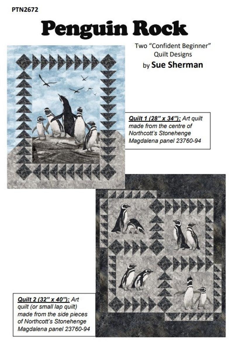Penguin Rock Pattern