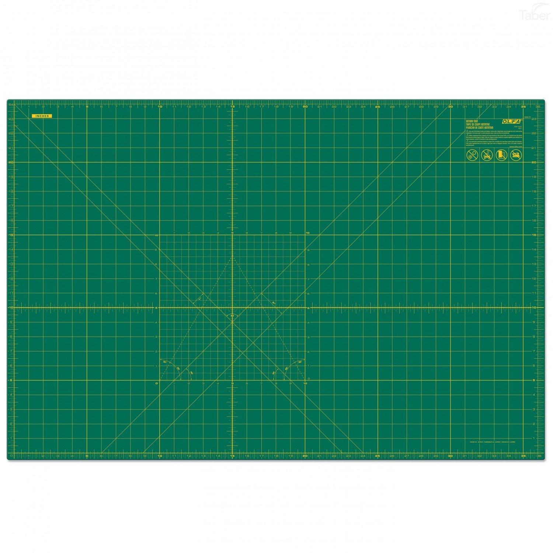 Olfa Cutting Mat 24X36 GRN W/GRID