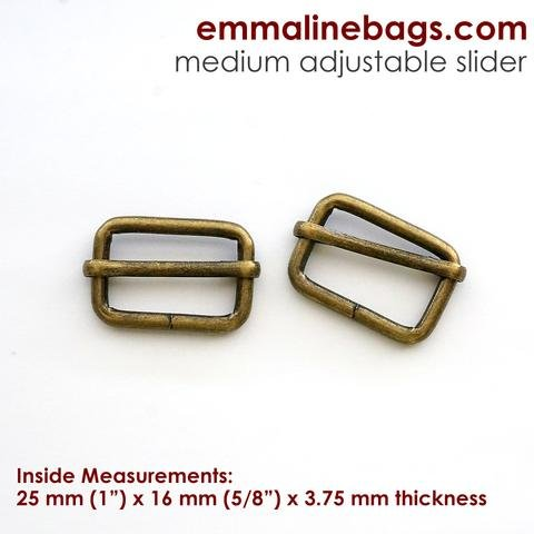 Adjustable Slider 1 Antique Brass