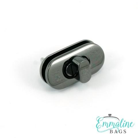 Small Turn Lock Nickel