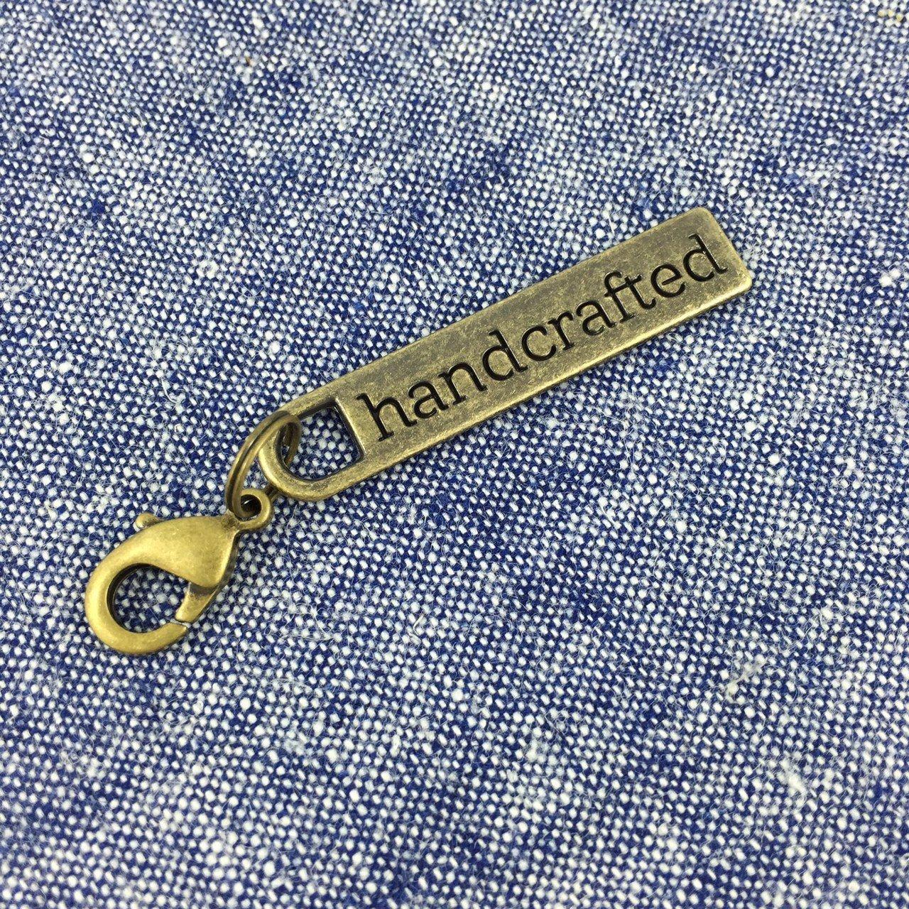 Handmade Zipper Pull - Brass