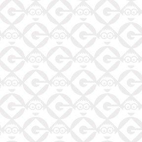 1 in a Minion -  Minions Geo Blender White Yardage 1649-23995-Z