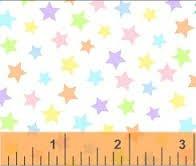 Basic Pastels - Multi Colored Stars 31641-16