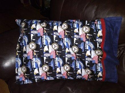 US Navy Pillowcase