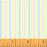 Basic Pastels - Multi Colored Stripes 29403-16