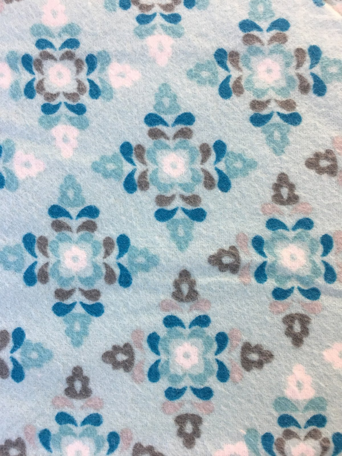 Winter Warmth-Designs - Diamond & Snowflakes on Light Blue