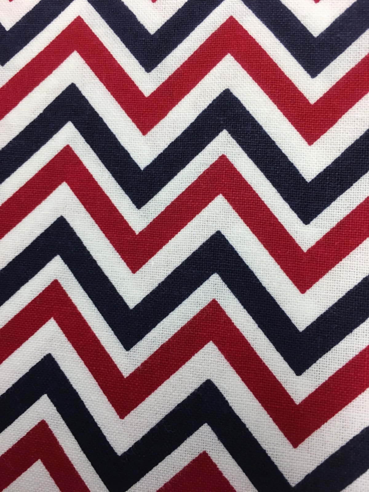 Sweet Liberty - Red, White & Blue Chevrons BTR6917 RED