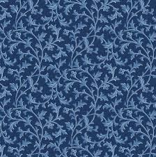 Gentle Breeze - Blue Tonal Vines MAS8518-N
