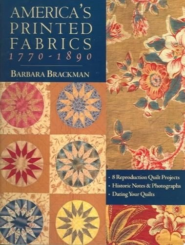 America's Printed Fabrics 1770-1890 Book