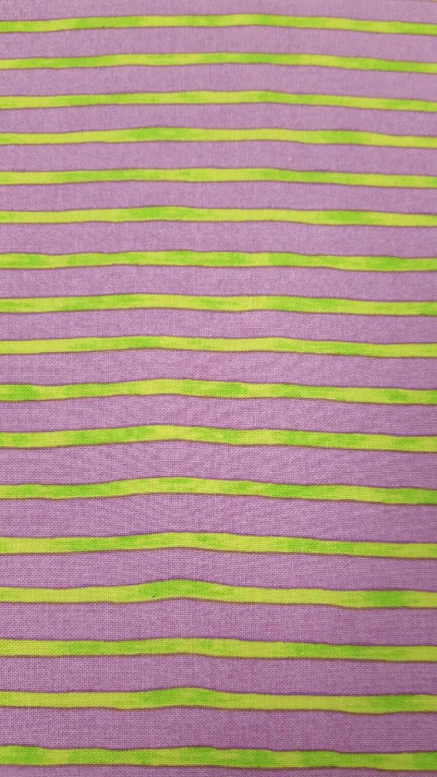 Dino World - Purple & Green Stripes BTR6784-Lilac
