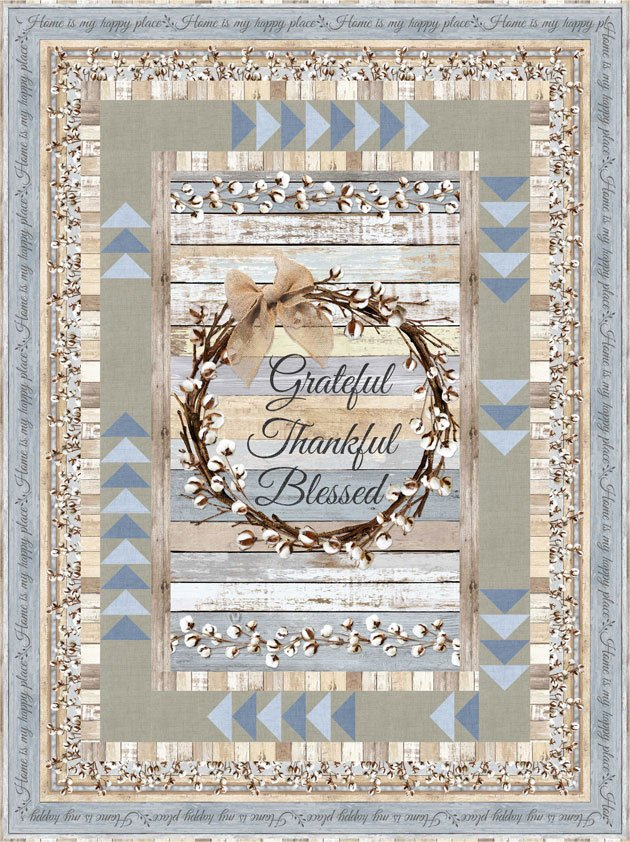 Cotton Blossom - Goose Chase Pattern