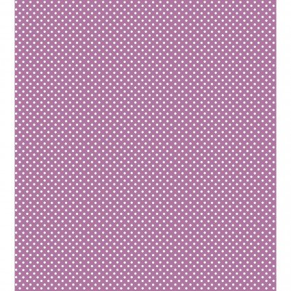 Garden Dots - Purple with White Dots BFGAD1GD-7