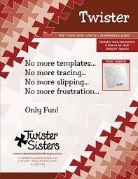 Twister Pinwheel Template