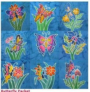 BALI PANEL BUTTERFLY BF 6 INCH