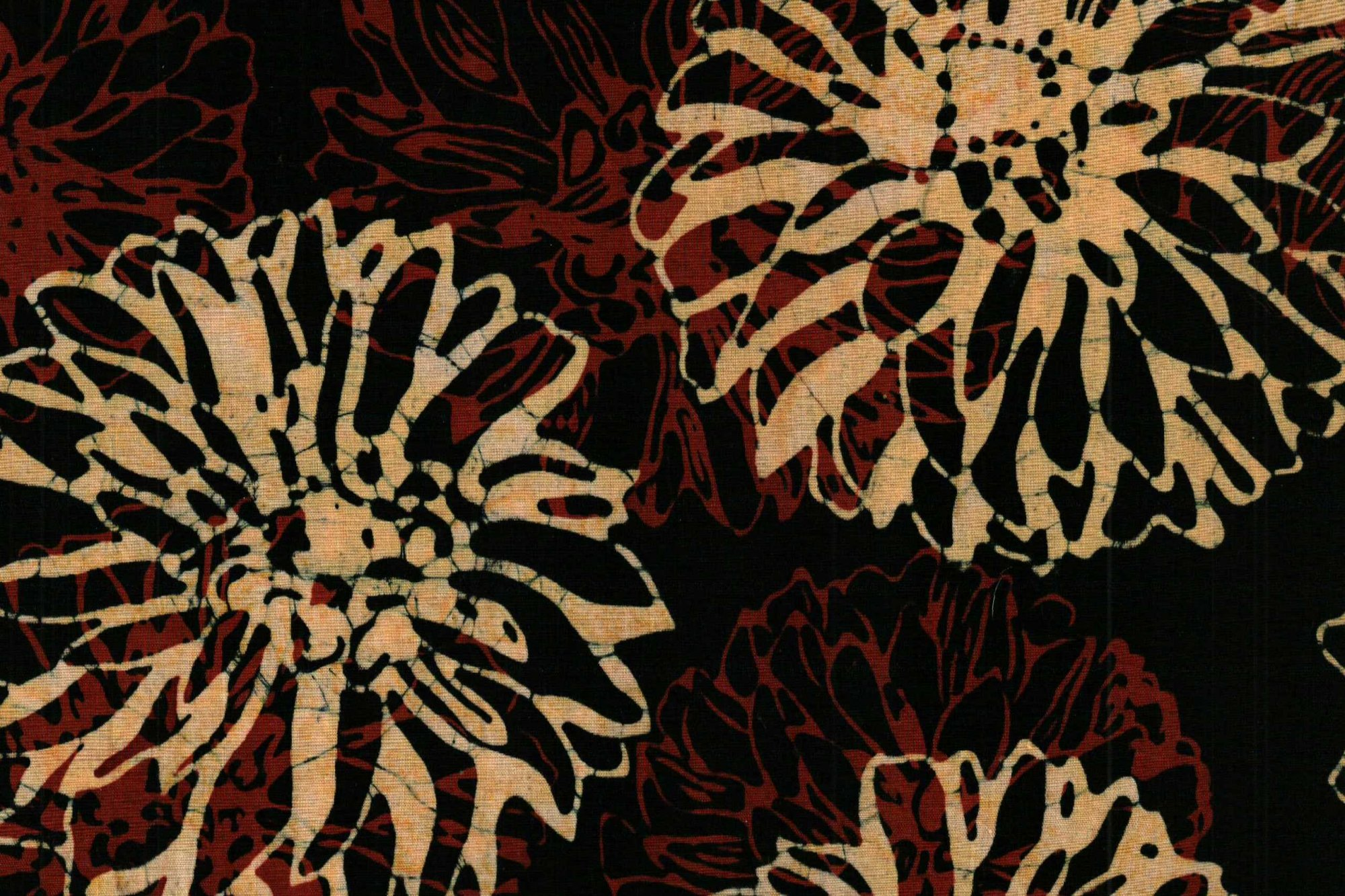 BATIKS HOFFMAN G 2215 0-4 FLOWERS