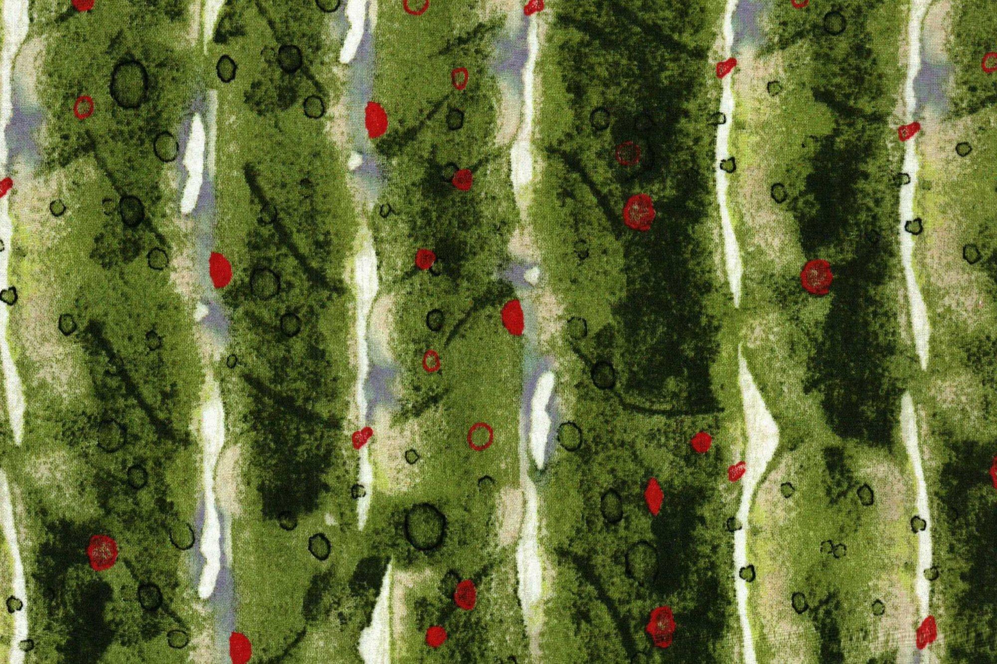 CLOTH WORKS NATURE'S GLORY DARK OLIVE Y 1256-25
